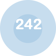 Logo chiffre 242